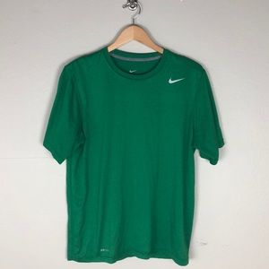 Nike Dri Fit Green Shirt